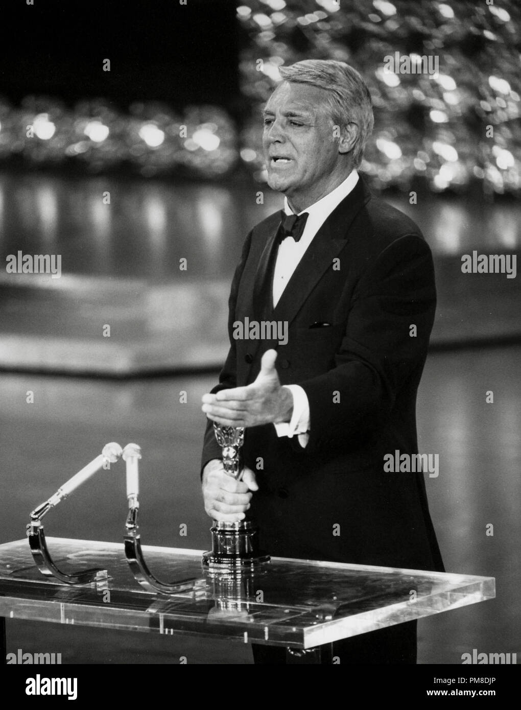 Cary Grant at the 42nd Annual Academy Awards, 1970   File Reference # 31955_612THA - Stock Image