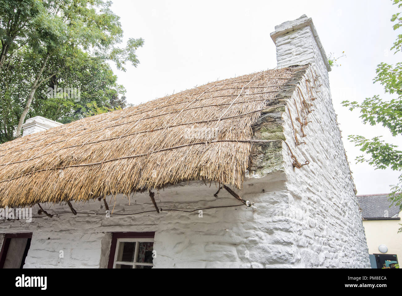 Bunratty Thatched Cottage - Stock Image