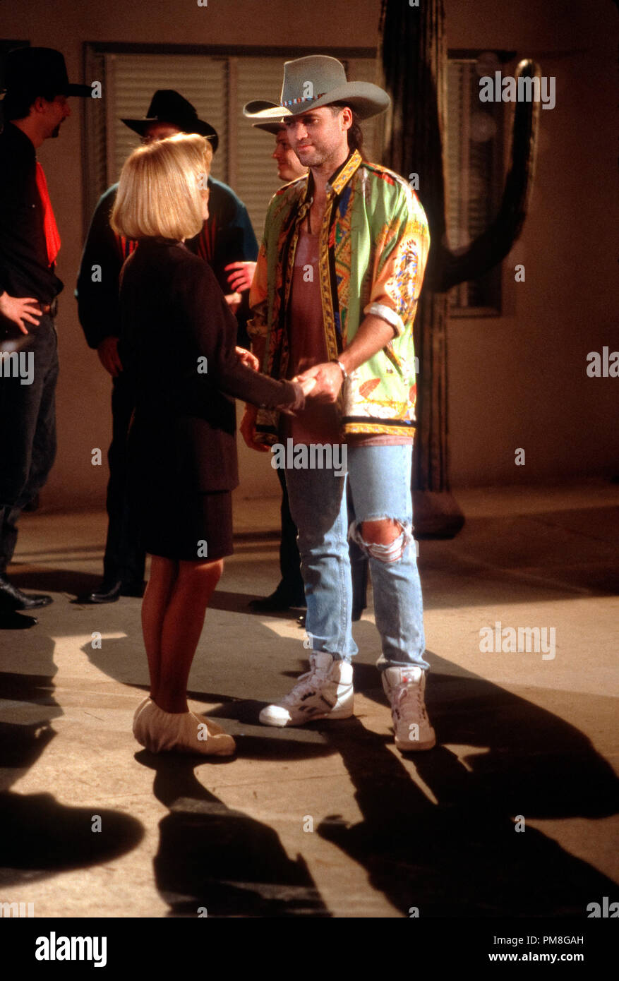 Film still / publicity still from 'Diagnosis Murder' Billy Ray Cyrus, Swoozie Kurtz circa 1993 CBS   File Reference # 31371316THA  For Editorial Use Only All Rights Reserved - Stock Image
