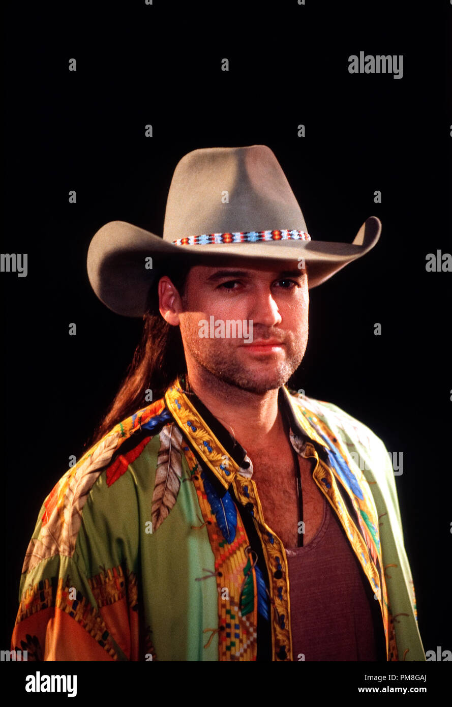 Film still / publicity still from 'Diagnosis Murder' Billy Ray Cyrus circa 1993 CBS   File Reference # 31371317THA  For Editorial Use Only All Rights Reserved - Stock Image