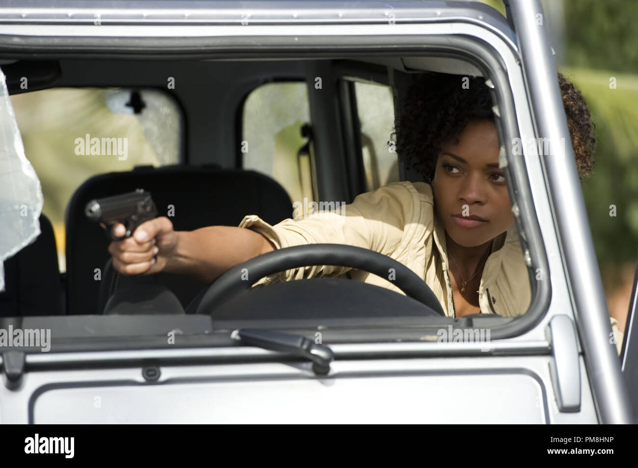 Naomie Harris stars in Metro-Goldwyn-Mayer Pictures/Columbia Pictures/EON Productions action adventure SKYFALL. - Stock Image