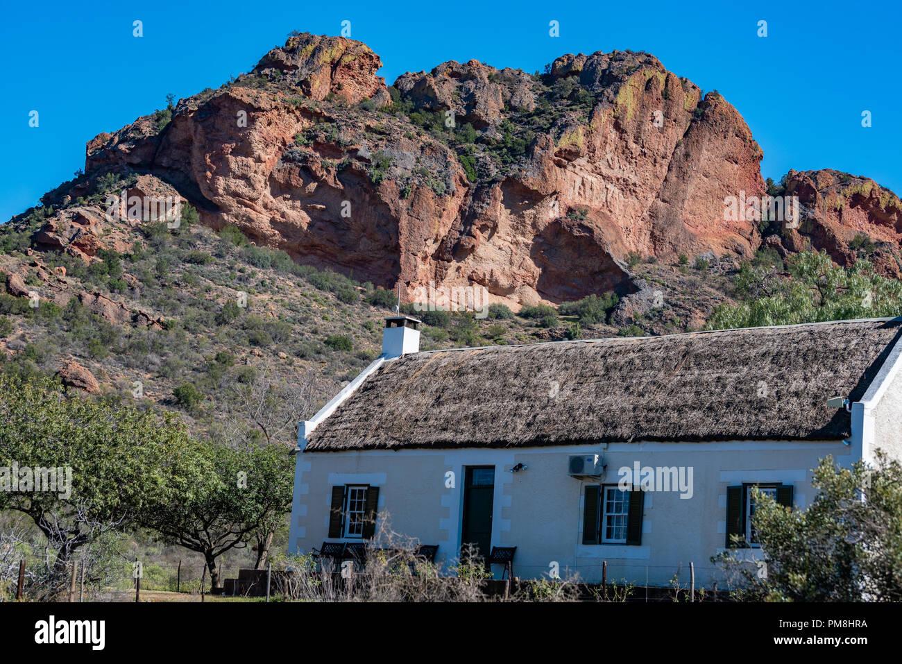 Redstone Hills, Klein Karoo, South Africa - Stock Image
