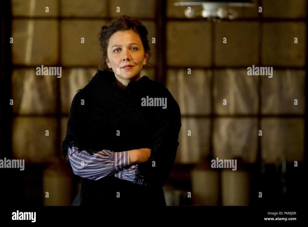 Maggie Gyllenhaal stars as Charlotte Dalrymple in Sony Pictures Classics' Hysteria (2012). Photo credit by Ricardo Vaz Palma. - Stock Image