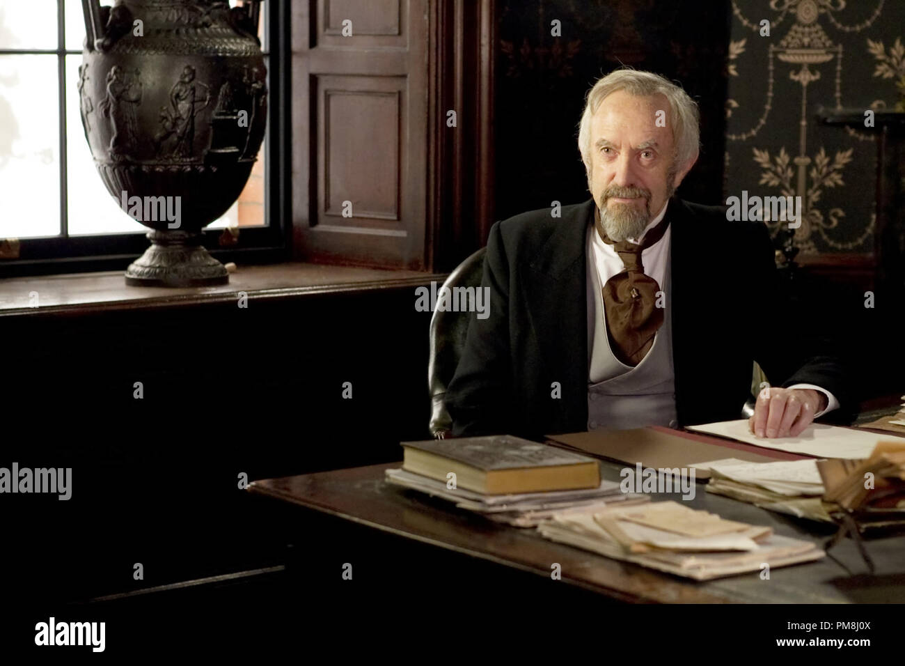 Jonathan Pryce stars as Dr. Dalrymple in Sony Pictures Classics' Hysteria (2012). Photo credit by Ricardo Vaz Palma. - Stock Image