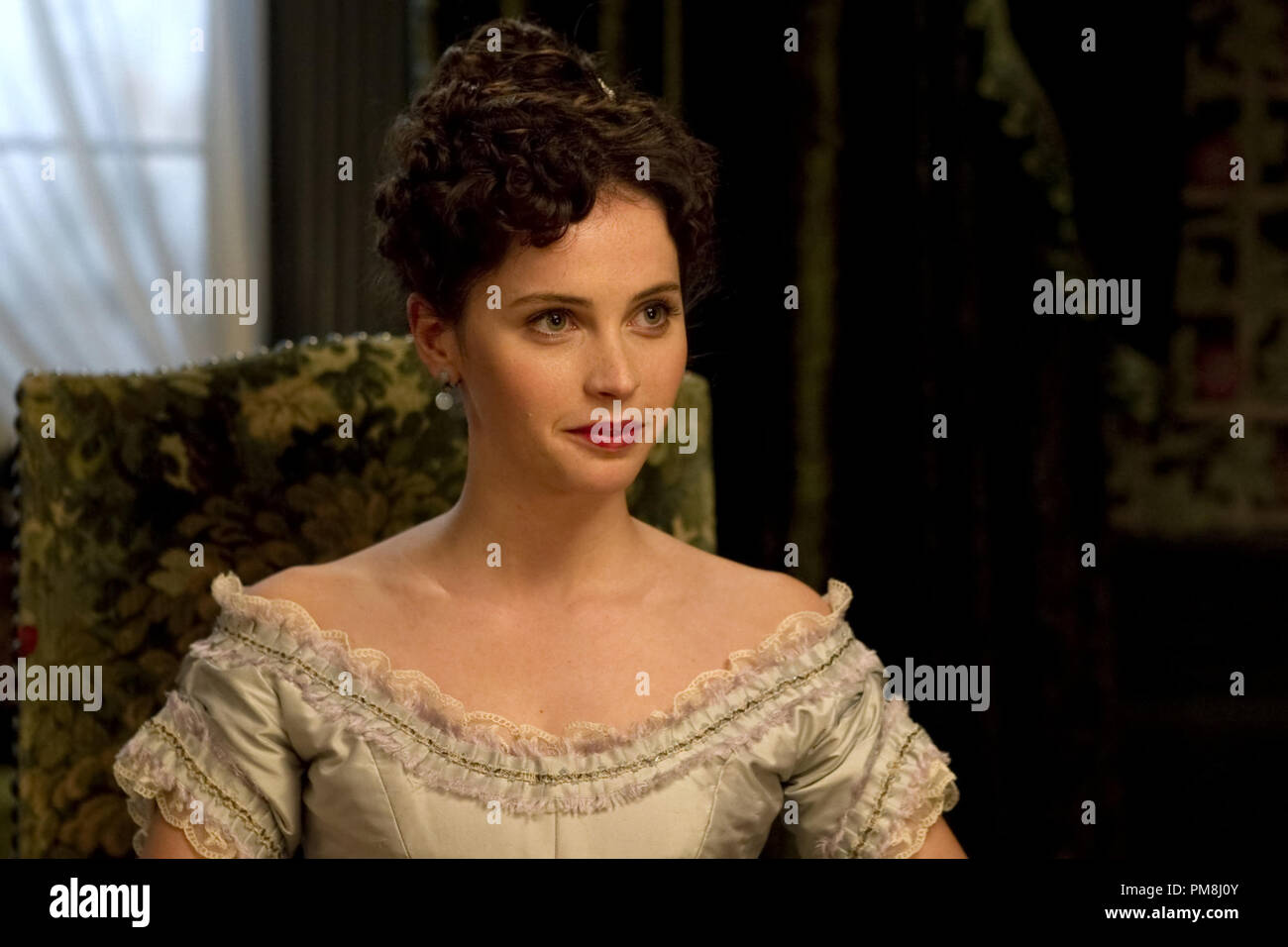 Felicity Jones stars as Emily Dalrymple in Sony Pictures Classics' Hysteria (2012). Photo credit by Ricardo Vaz Palma. - Stock Image
