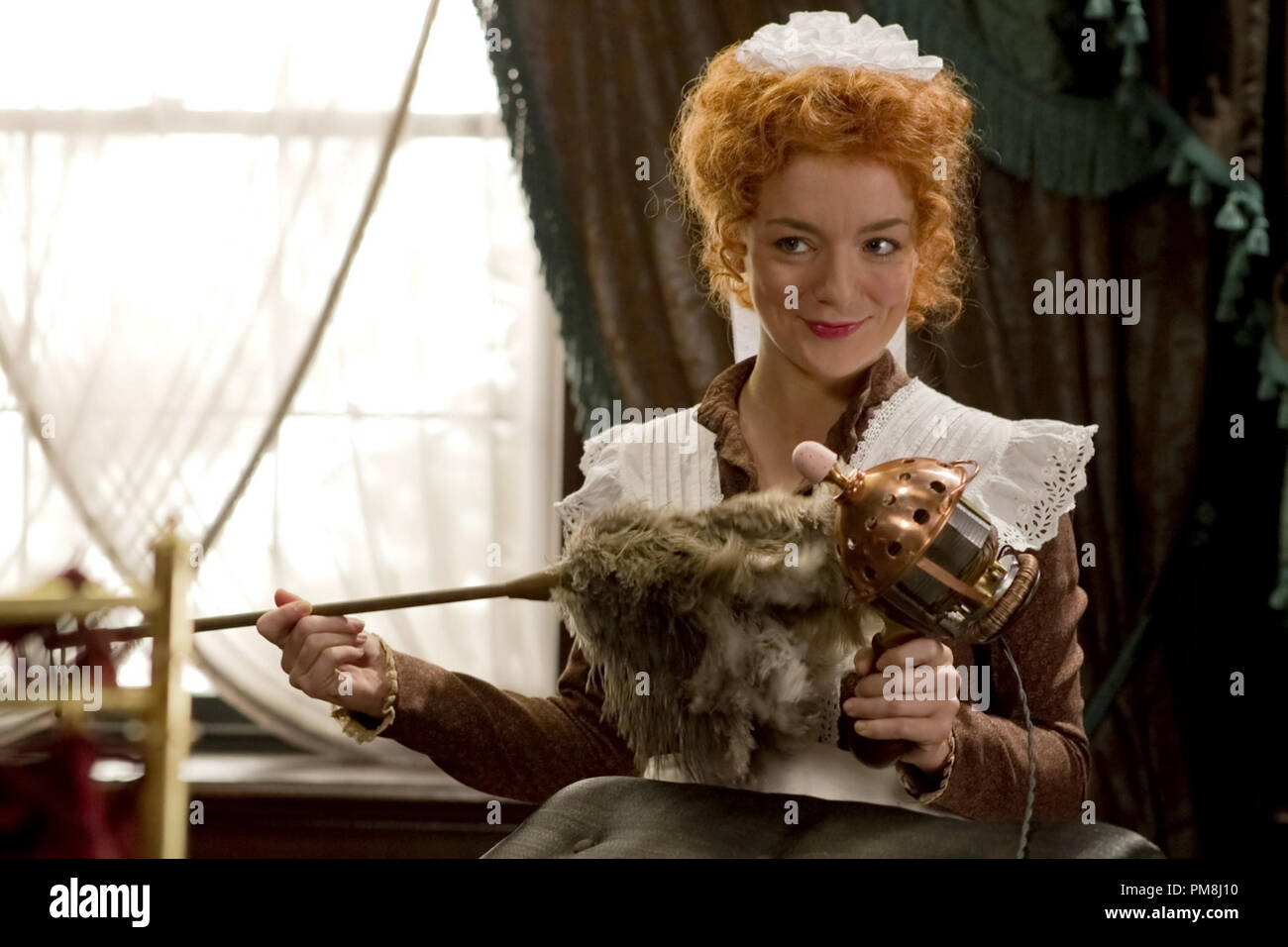 Sheridan Smith stars as Molly the Lolly in Sony Pictures Classics' Hysteria (2012). Photo credit by Ricardo Vaz Palma. - Stock Image