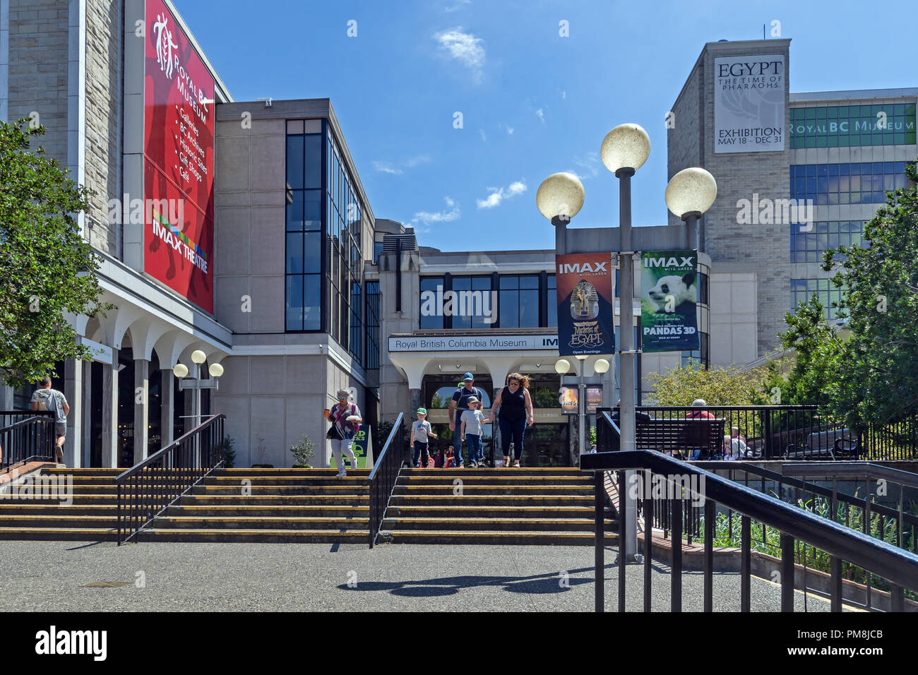 Royal British Columbia Museum, Victoria, capital of British Columbia, Canada - Stock Image