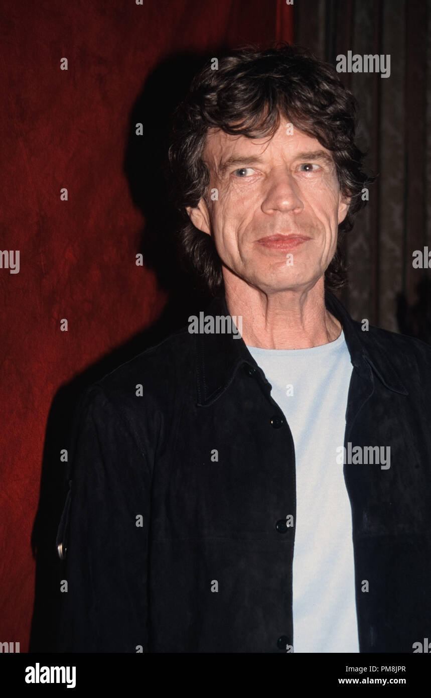 Mick Jagger, 2002.  © JRC /The Hollywood Archive  -  All Rights Reserved  File Reference # 31515_523 - Stock Image