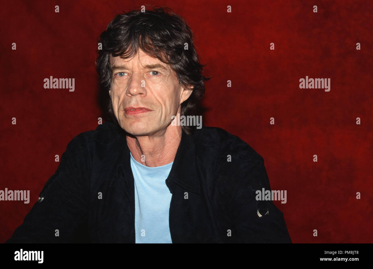Mick Jagger, 2002. © JRC /The Hollywood Archive  -  All Rights Reserved  File Reference # 31515_542 - Stock Image