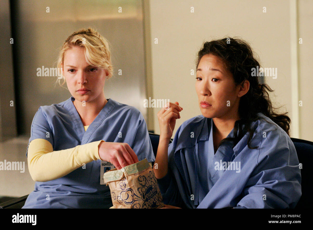 Katherine Heigl And Sandra Oh Stock Photos & Katherine Heigl And ...