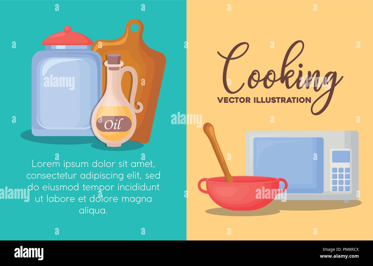 infographic-of-cooking-concept-with-jar-