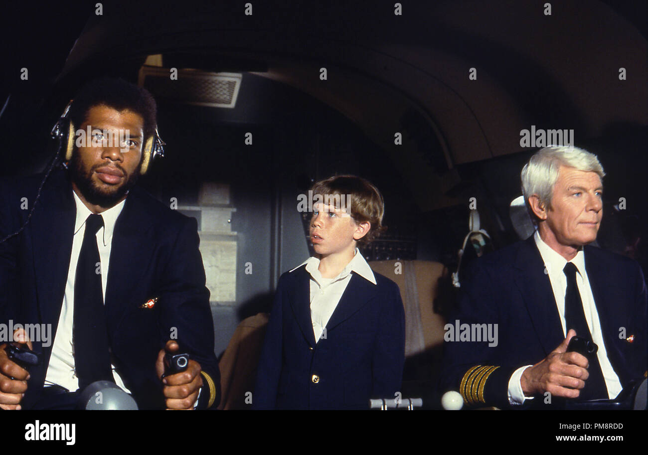 Studio Publicity Still From Airplane Kareem Abdul Jabbar Rossie