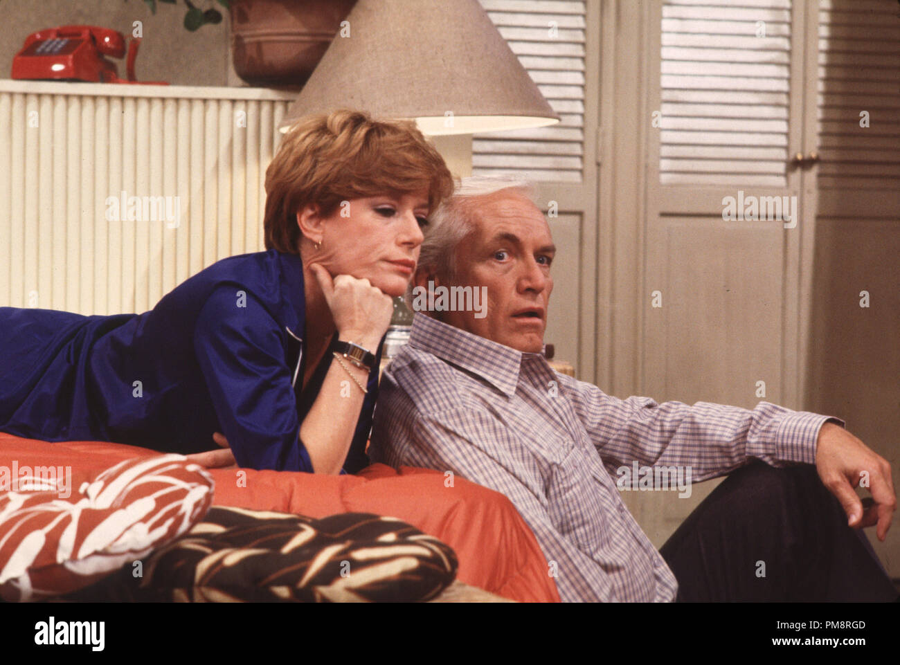 Studio Publicity Still from 'Too Close For Comfort' Ted Knight,Nancy Dussault 1980  All Rights Reserved   File Reference # 31715022THA  For Editorial Use Only - Stock Image