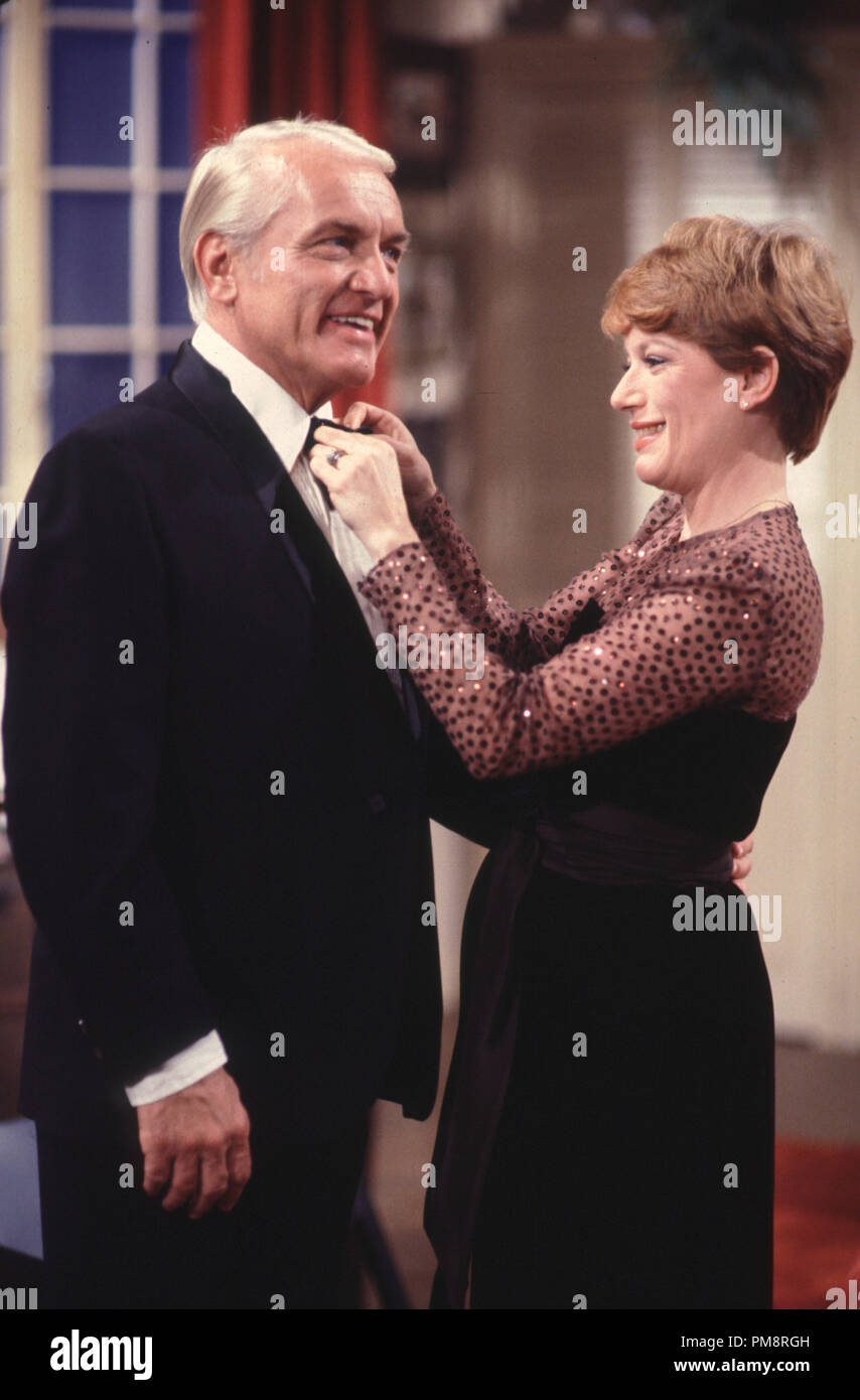 Studio Publicity Still from 'Too Close For Comfort' Ted Knight,Nancy Dussault 1980  All Rights Reserved   File Reference # 31715023THA  For Editorial Use Only - Stock Image