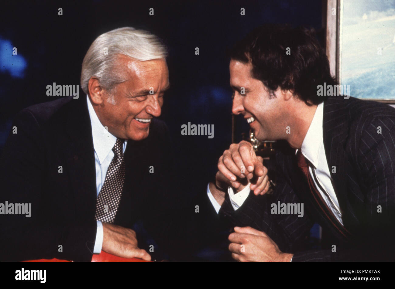 Studio Publicity Still from 'Caddyshack' Ted Knight, Chevy Chase © 1980 Orion  All Rights Reserved   File Reference # 31715288THA  For Editorial Use Only - Stock Image