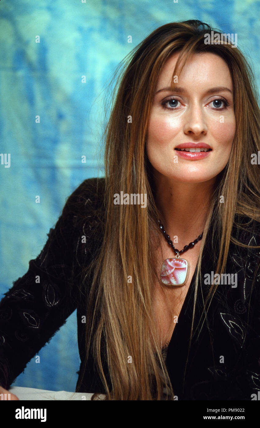 "natascha mcelhone at ""solaris"" press conference 2002 © jrc"