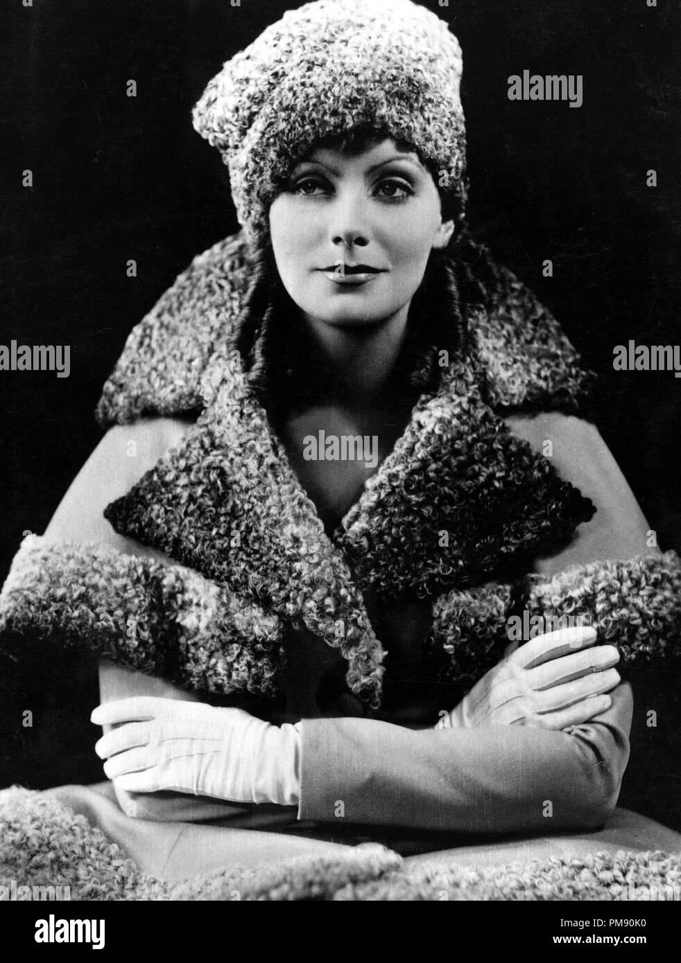 (Archival Classic Cinema - Greta Garbo Retrospective) Greta Garbo, 1930   File Reference # 31523_012THA - Stock Image