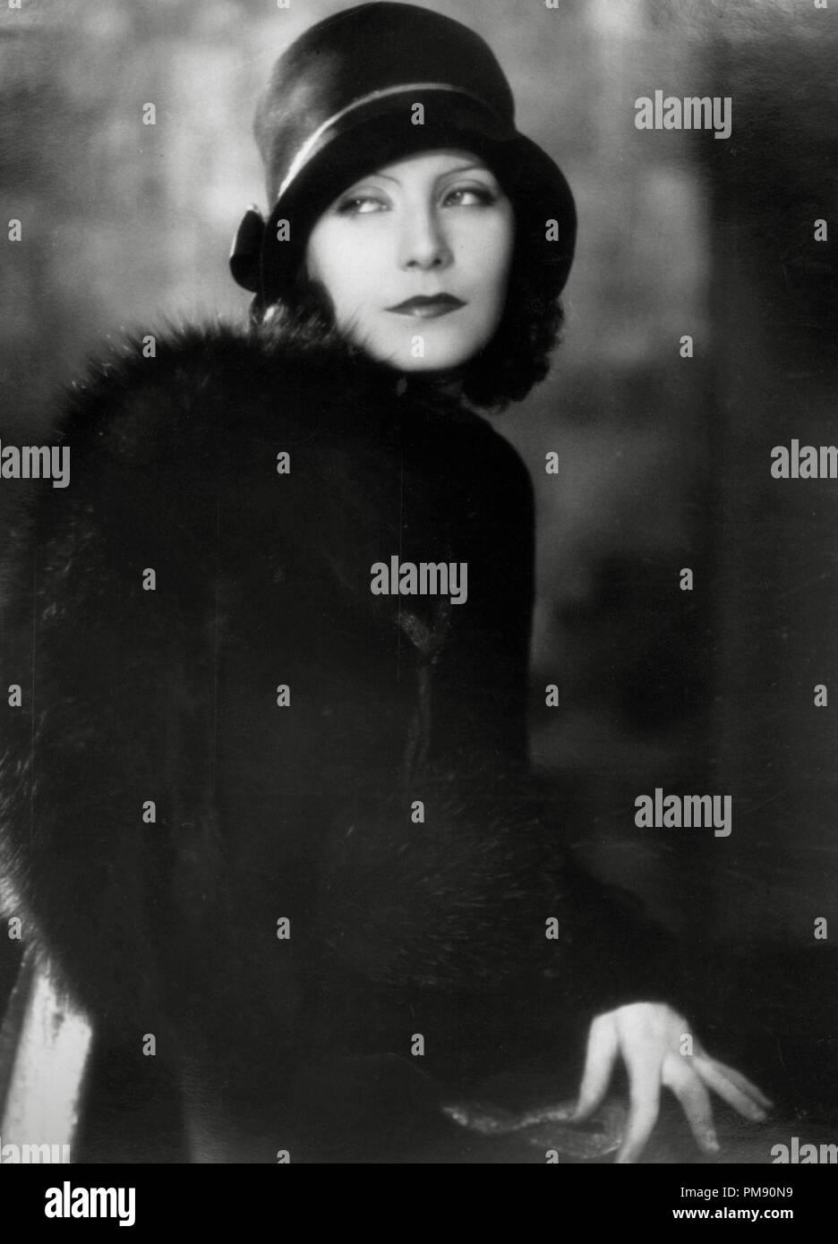 (Archival Classic Cinema - Greta Garbo Retrospective) Greta Garbo, circa 1927  File Reference # 31523_033THA - Stock Image