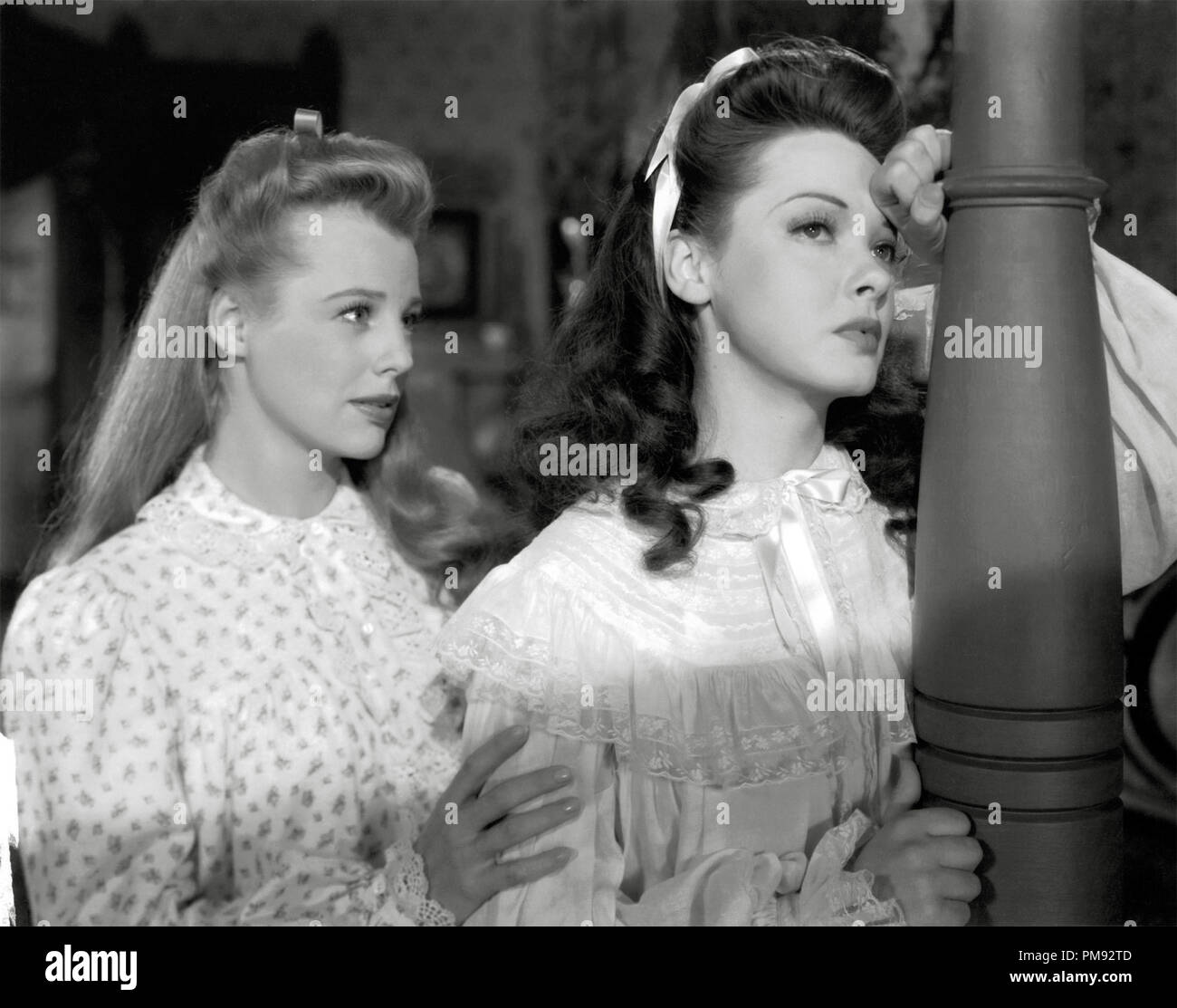 Kathryn Grayson and June Allyson, 'Two Sisters From Boston' 1946 MGM File Reference # 31537_311 - Stock Image