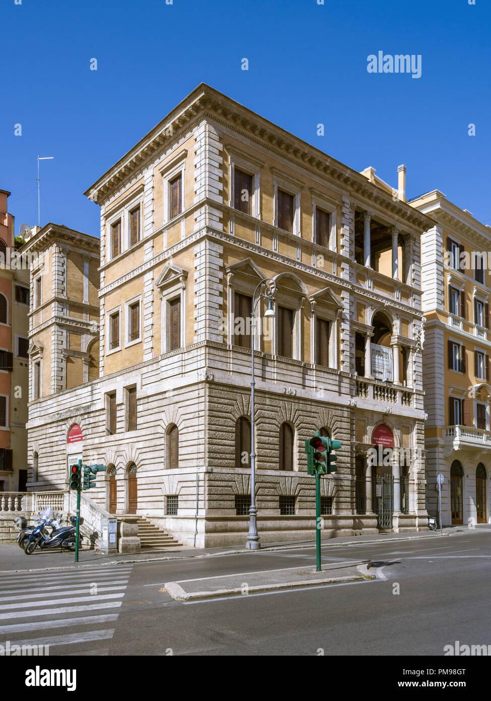 Piccola Farnesina, Museo Barracco di Scultura Antica, Rome, Italy Stock Photo