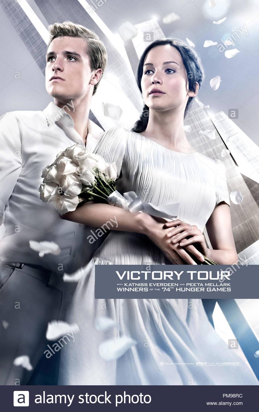 Katniss Everdeen Jennifer Lawrence And Peeta Mellark Josh
