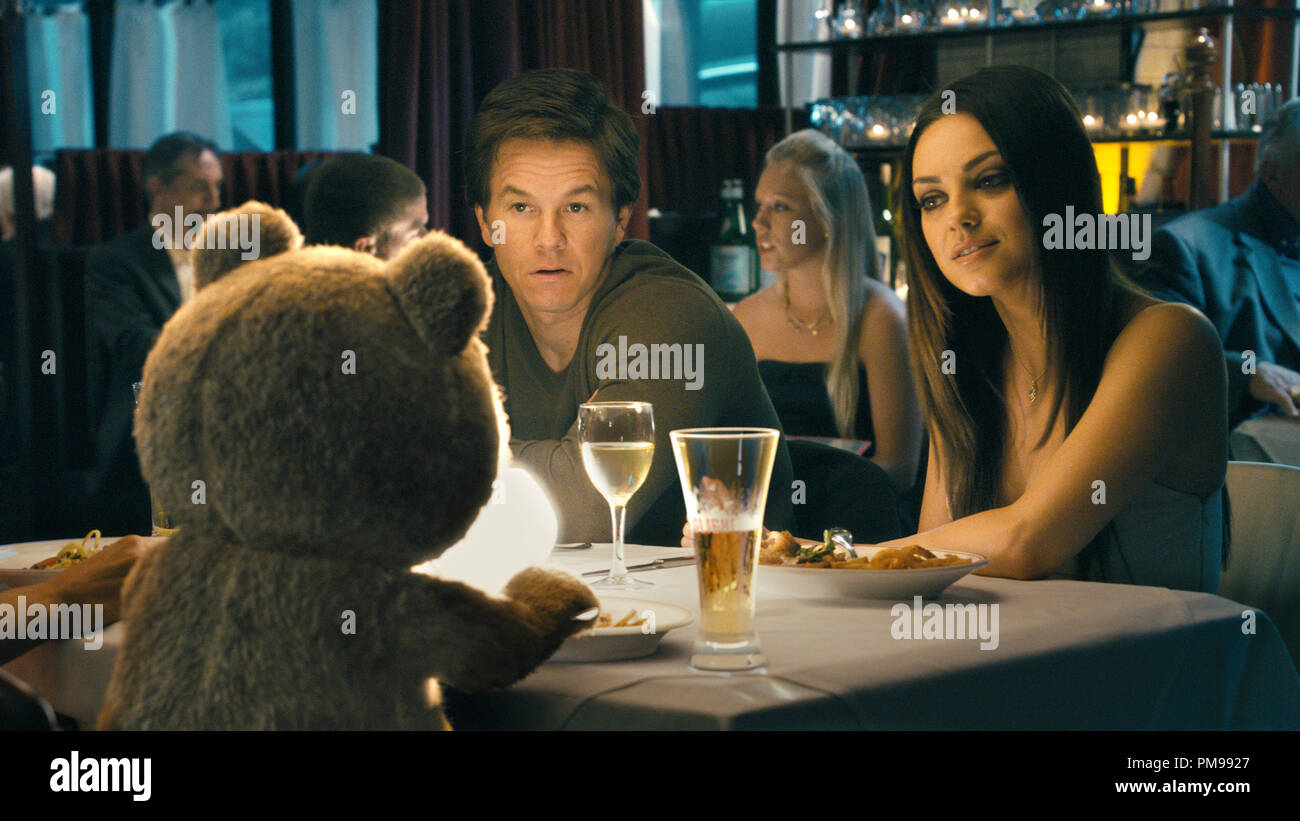 Ted Voiced By Seth Macfarlane Has Dinner With His Best Friend