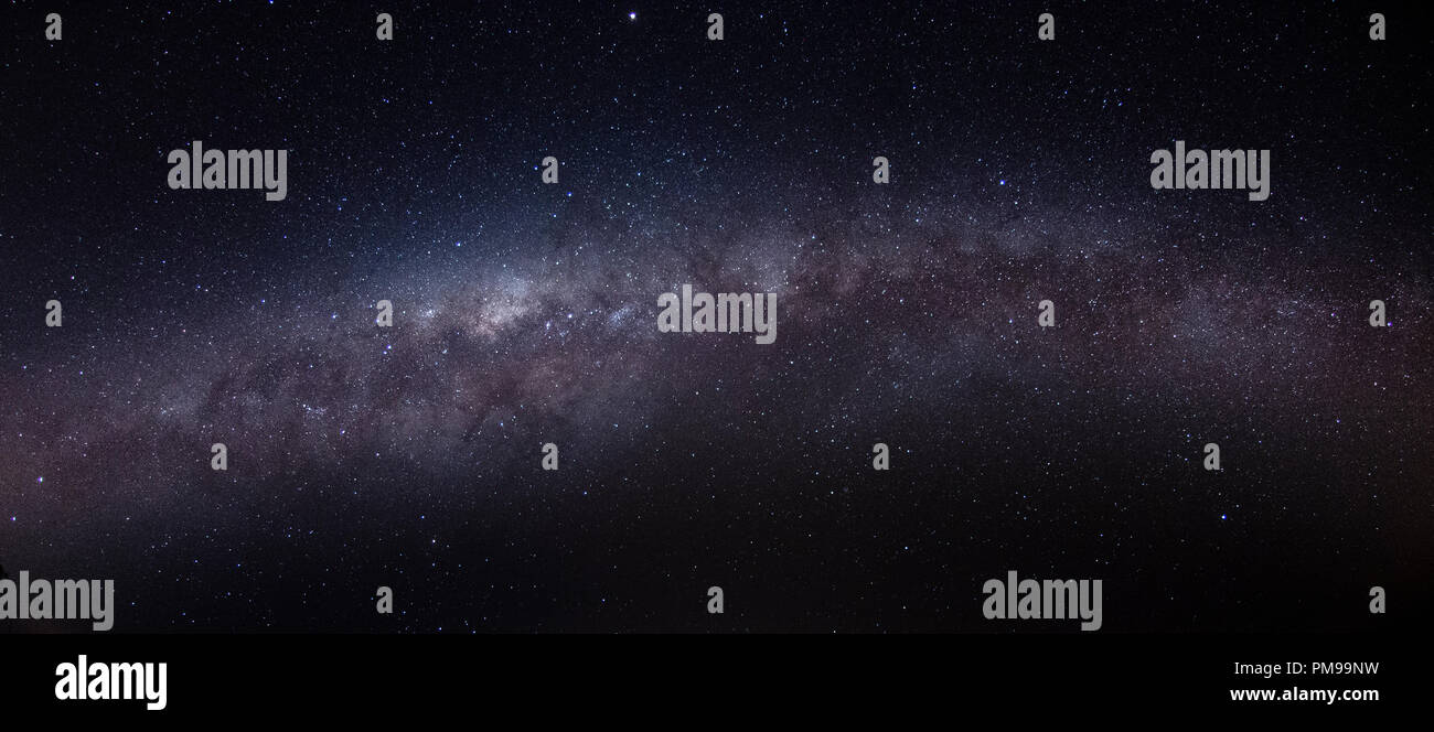 Milky Way registered in South America in the fall. - Stock Image