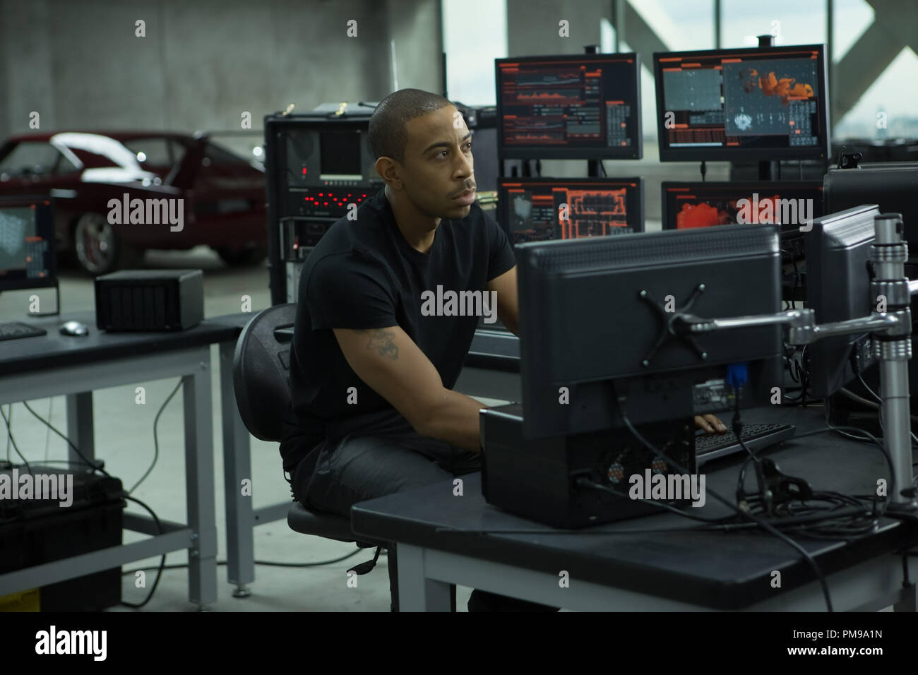 Chris Ludacris Bridges As Tej In Fast Furious 6 The Next Installment Of The Global Blockbuster Franchise Built On Speed Stock Photo Alamy