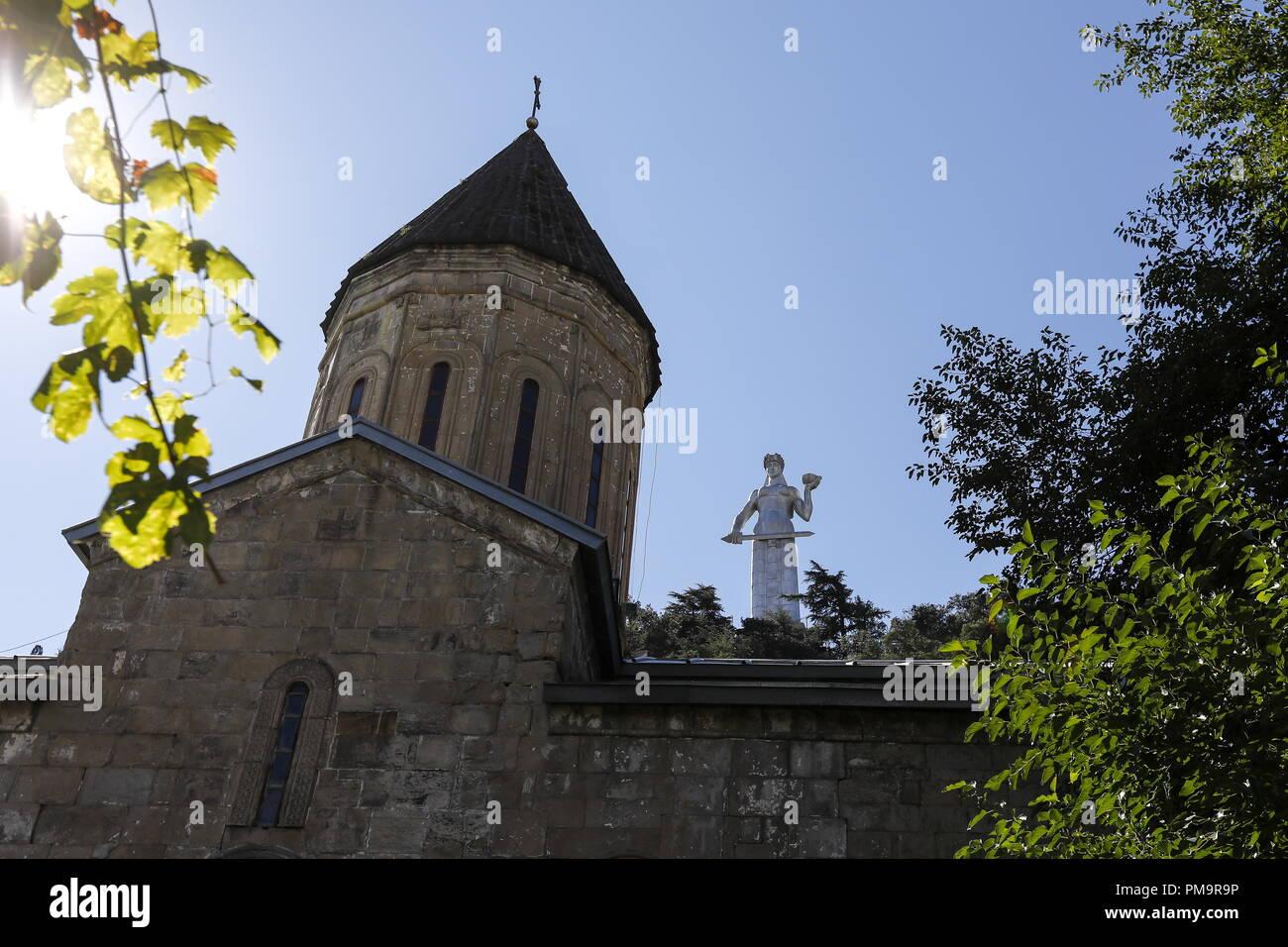 Tbilisi, Georgia  17th Sep, 2018  TBILISI, GEORGIA - SEPTEMBER 17