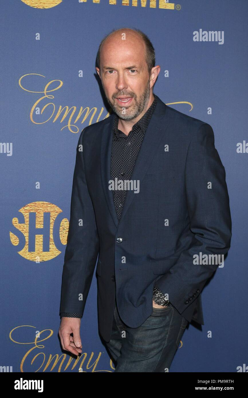 Eric Lange at arrivals for Showtime Emmy Eve Nominees Celebration, Chateau Marmont, Los Angeles, CA September 16, 2018. Photo By: Priscilla Grant/Everett Collection - Stock Image