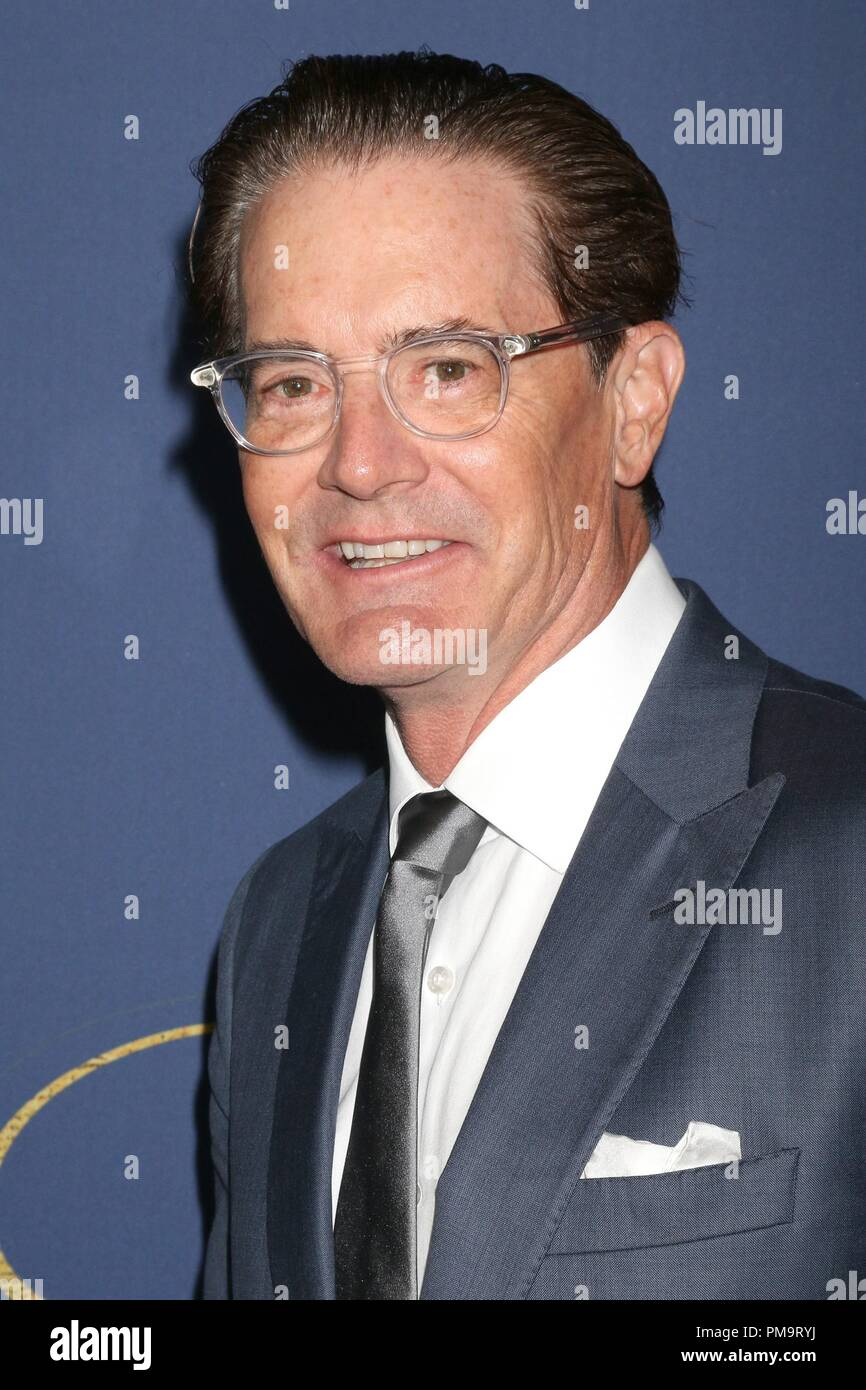 Kyle MacLachlan at arrivals for Showtime Emmy Eve Nominees Celebration, Chateau Marmont, Los Angeles, CA September 16, 2018. Photo By: Priscilla Grant/Everett Collection - Stock Image