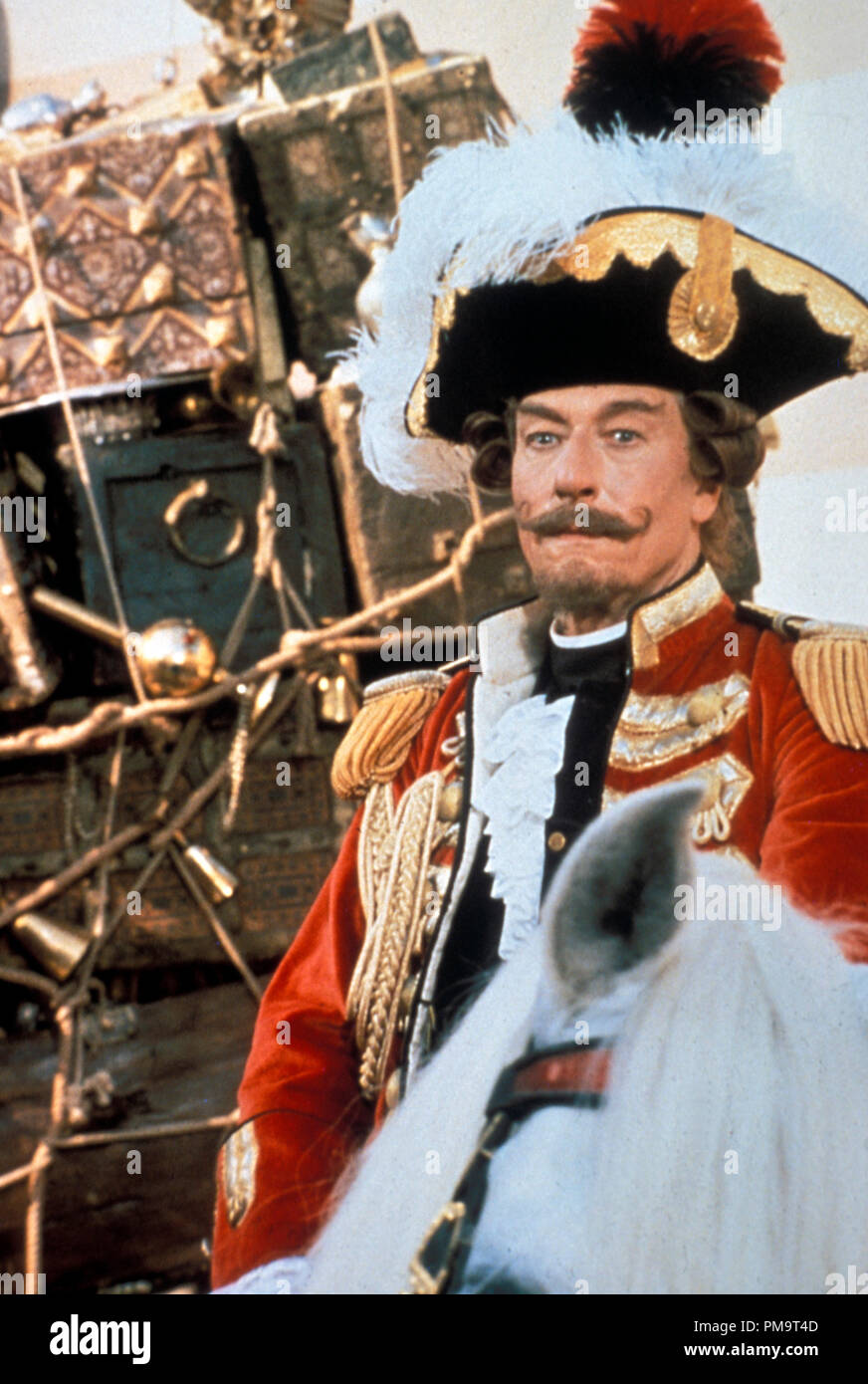 """Studio Publicity Still from """"The Adventures of Baron Munchausen"""" John Neville © 1988 Columbia Photo Credit: Franco Bellomo All Rights Reserved   File Reference # 31694072THA  For Editorial Use Only Stock Photo"""