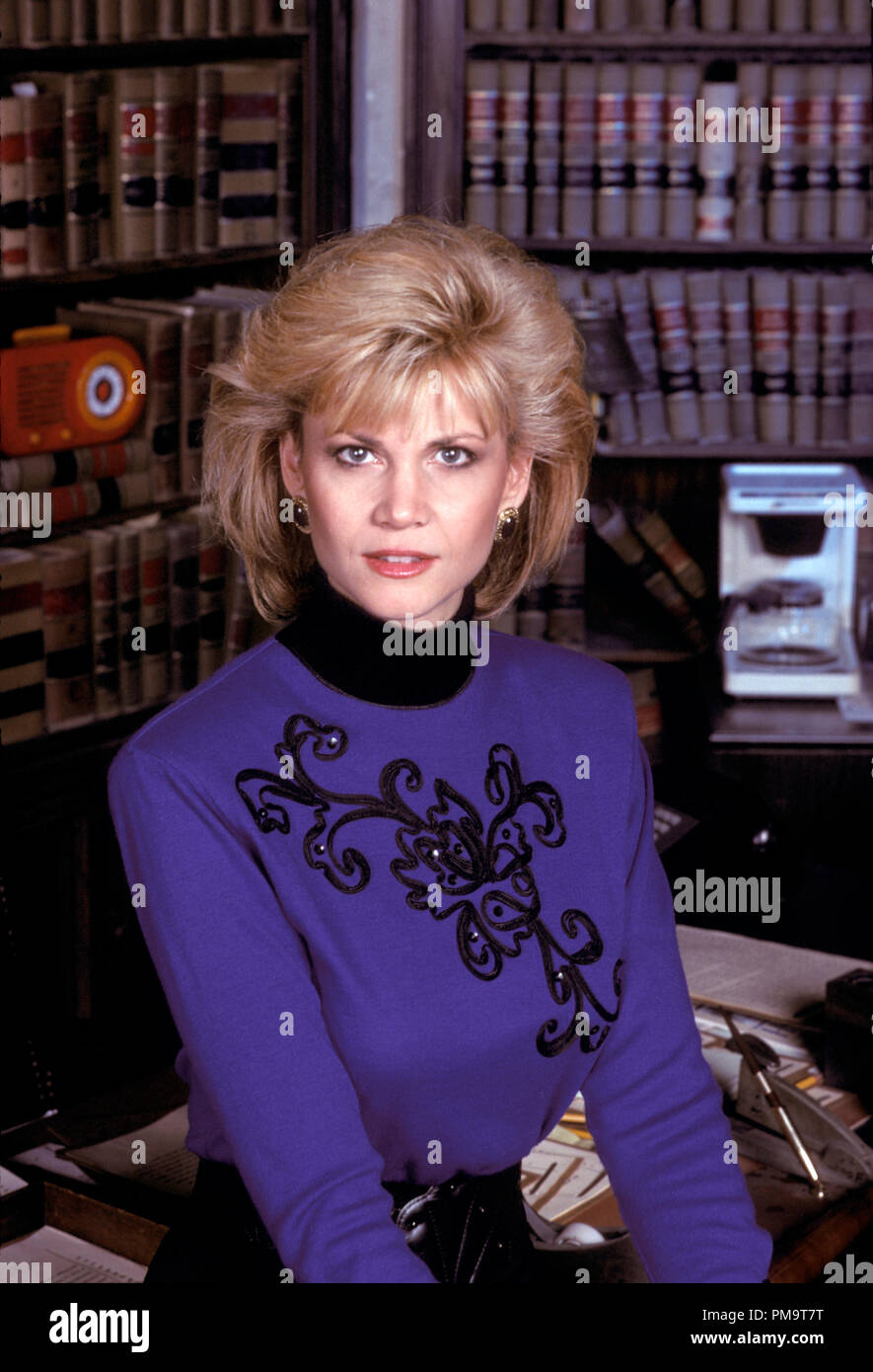 Studio Publicity Still from 'Night Court' Markie Post 1988   All Rights Reserved   File Reference # 31694146THA  For Editorial Use Only - Stock Image