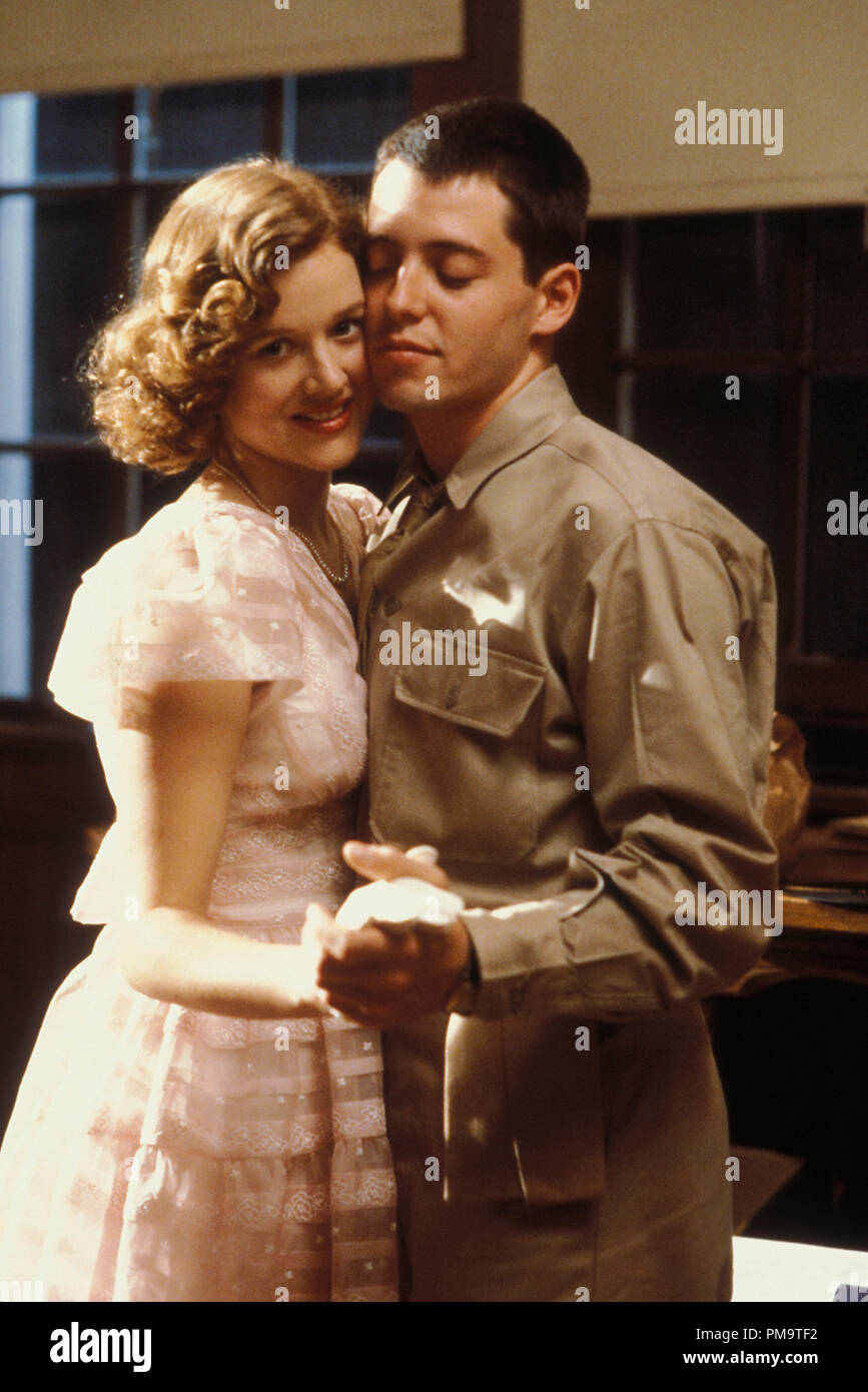 Penelope Ann Miller Matthew Broderick High Resolution Stock