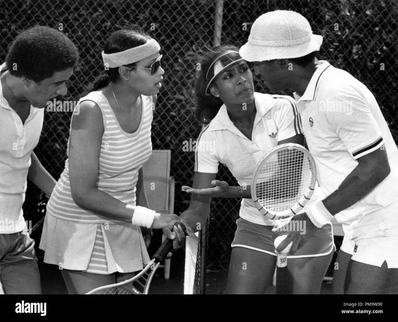 Studio Publicity Still from 'California Suite' Richard Pryor, Gloria Gifford, Sheila Frazier, Bill Cosby © 1978 Columbia Pictures  All Rights Reserved   File Reference # 31720231THA  For Editorial Use Only - Stock Image