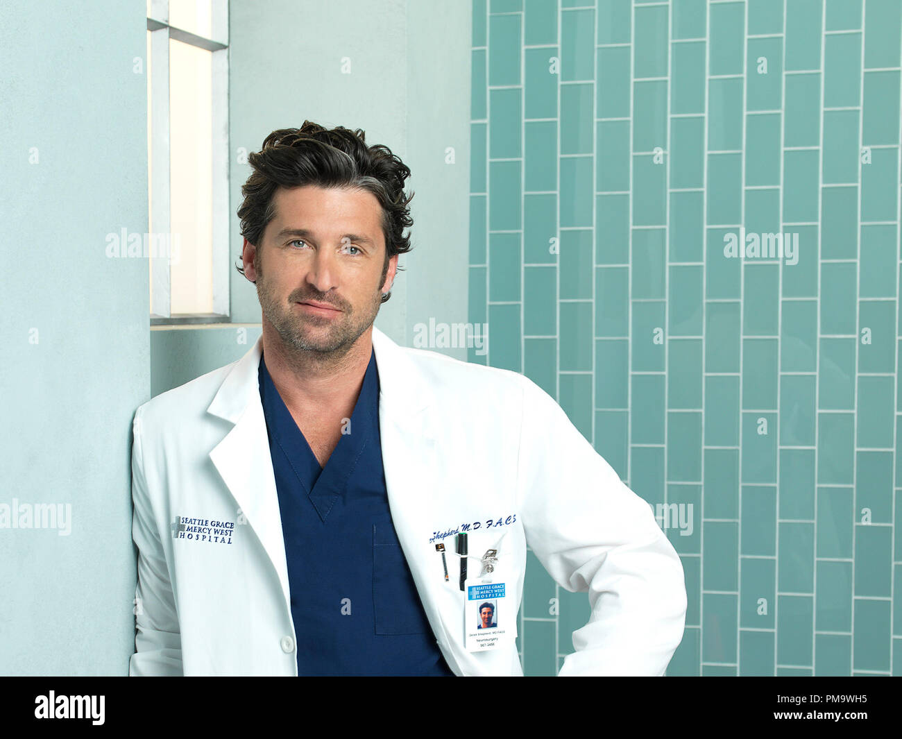 Greys Anatomy Abcs Greys Anatomy Stars Patrick Dempsey As