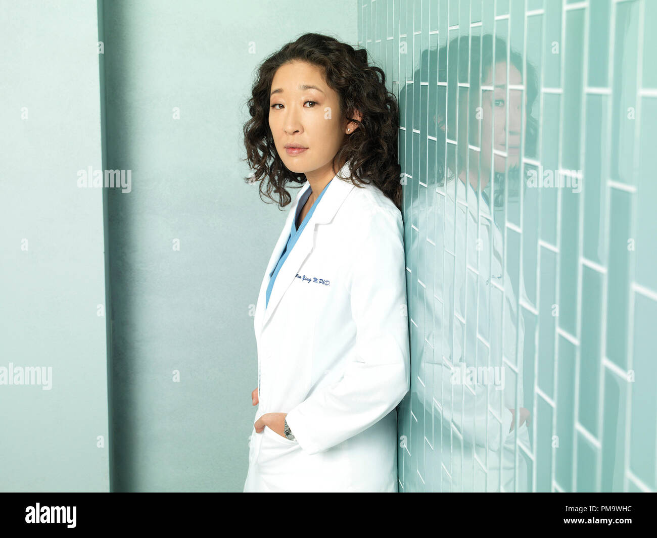 GREY'S ANATOMY - ABC's 'Grey's Anatomy' stars Sandra Oh as Cristina Yang. - Stock Image