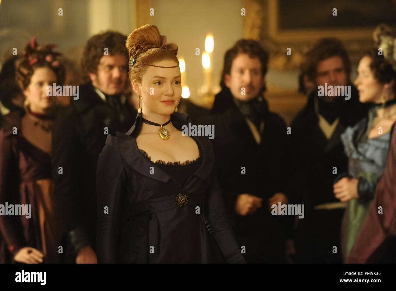 Holliday Grainger stars as Estella in Outsource Media Group's Great Expectations (2012) - Stock Image