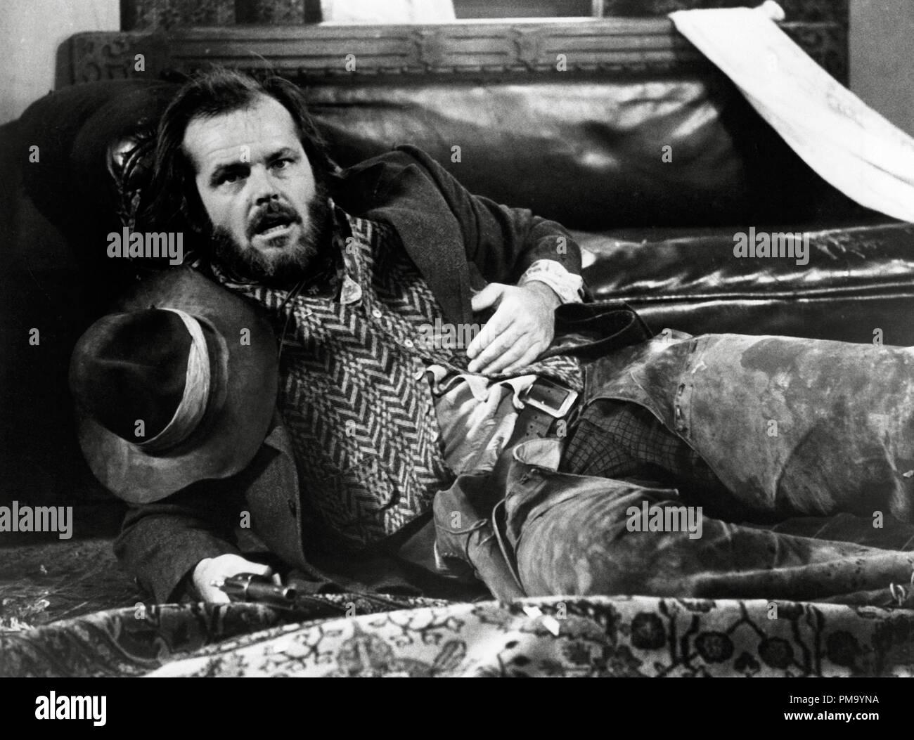 Studio Publicity Still: 'The Missouri Breaks' Jack Nicholson 1976 UA    File Reference # 31780_256THA - Stock Image