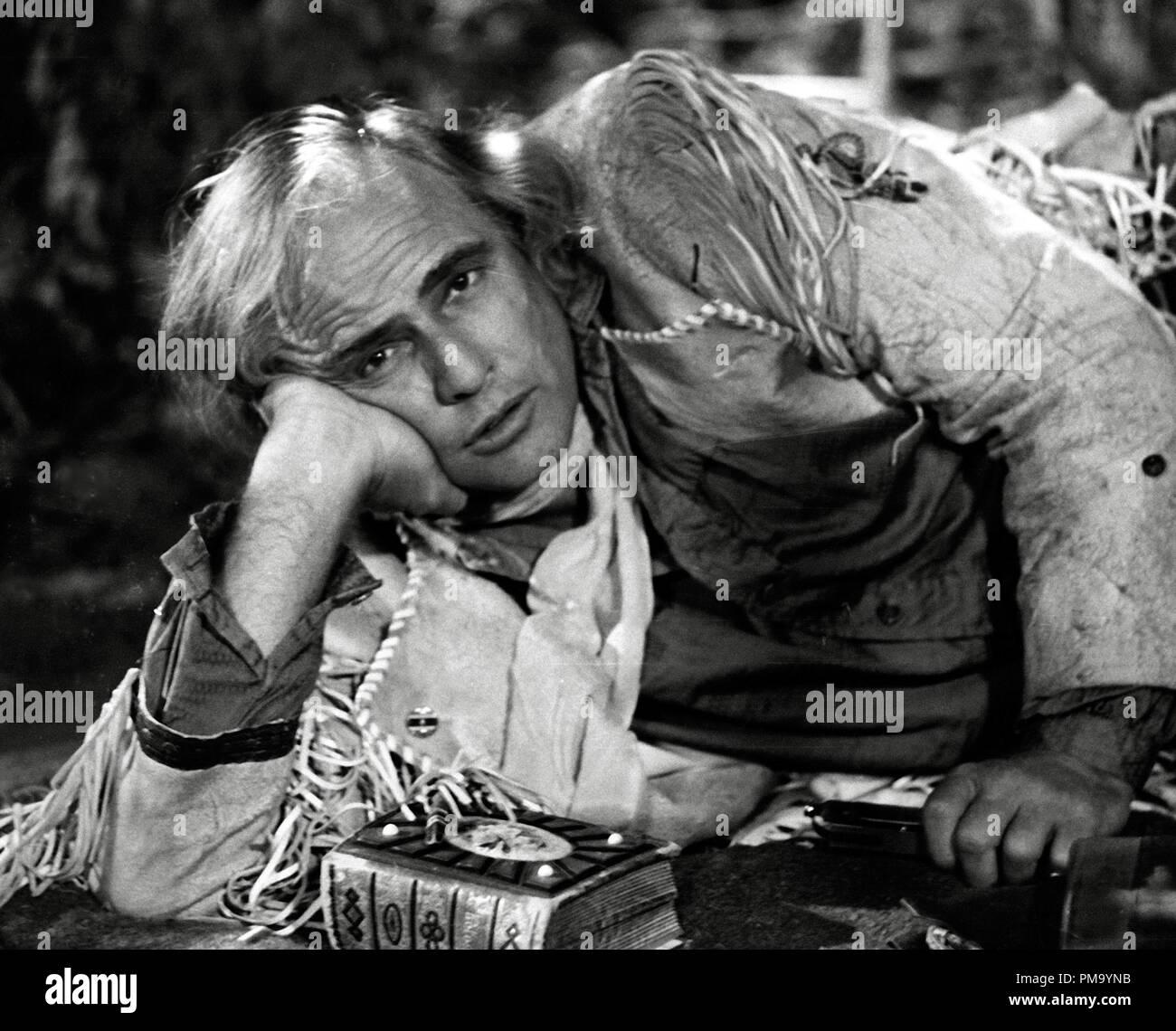 Studio Publicity Still: 'The Missouri Breaks' Marlon Brando 1976 UA  File Reference # 31780_257THA - Stock Image