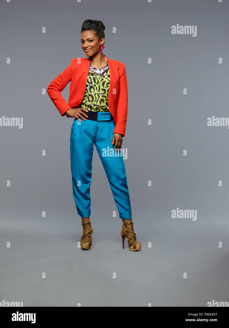 Still of Freema Agyeman in The Carrie Diaries - Stock Image