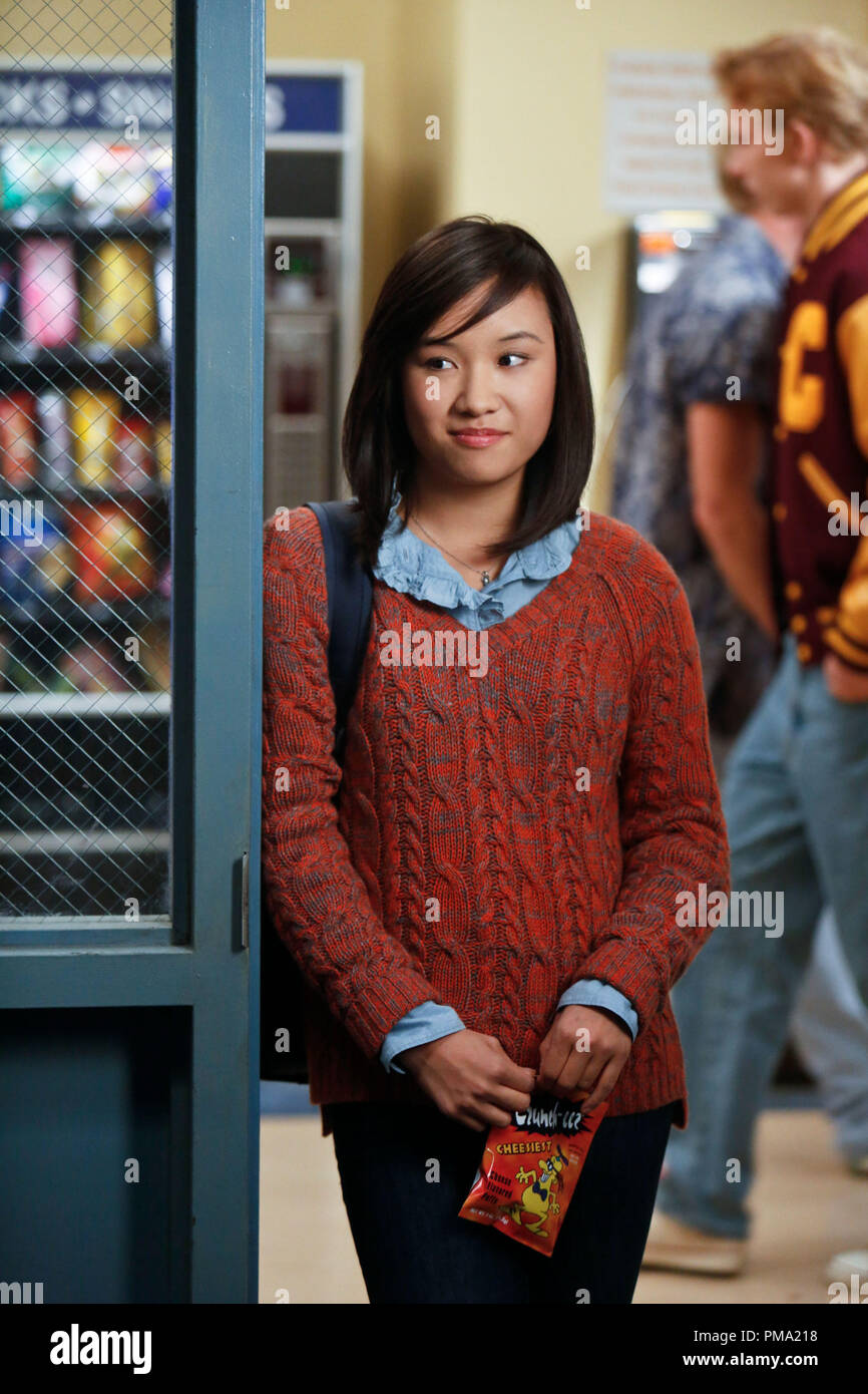 Still of Ellen Wong in The Carrie Diaries - Stock Image