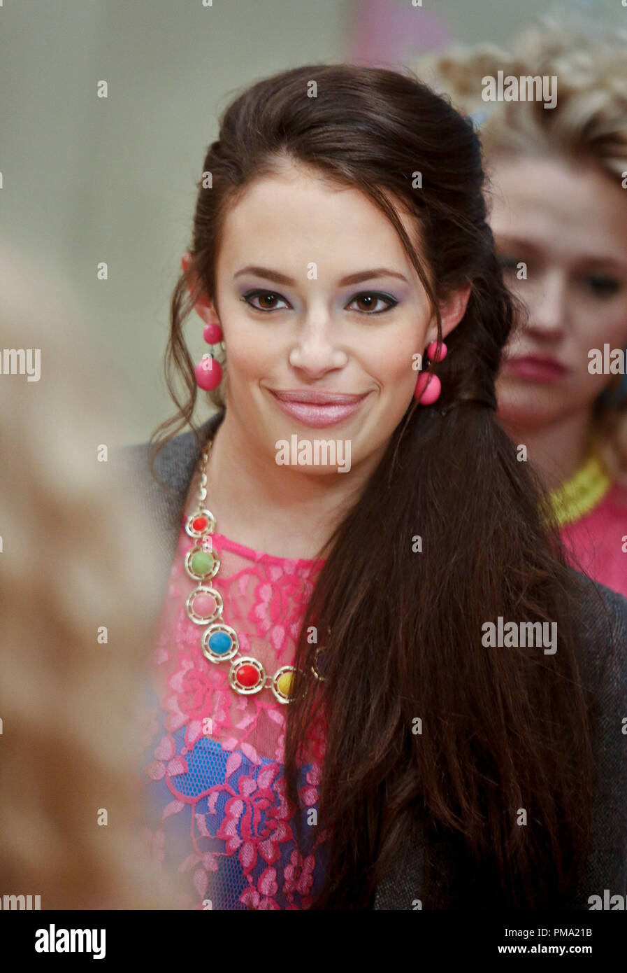 Still of Chloe Bridges in The Carrie Diaries - Stock Image
