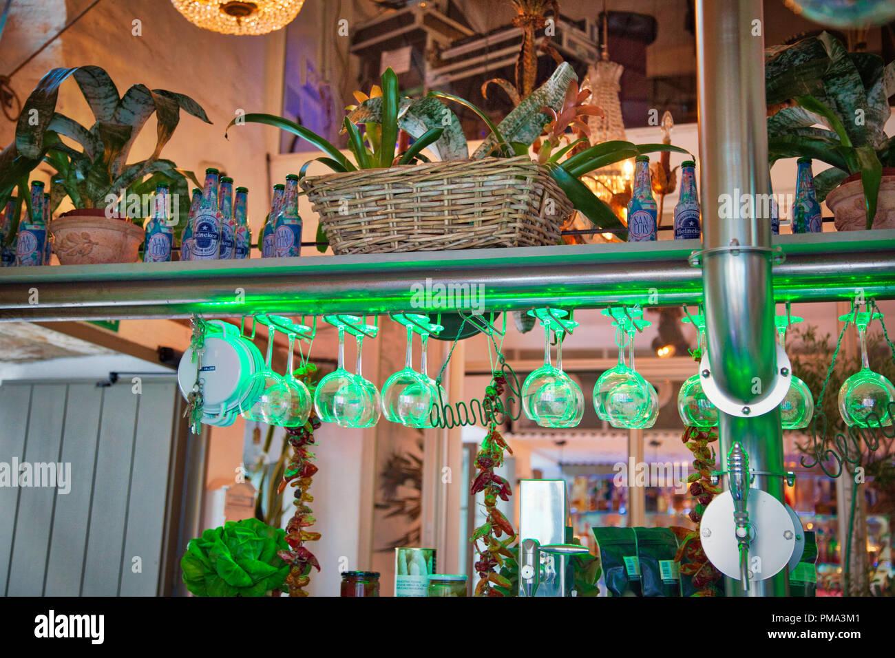 Facade Of Restaurant Cordoba Stock Photos Facade Of