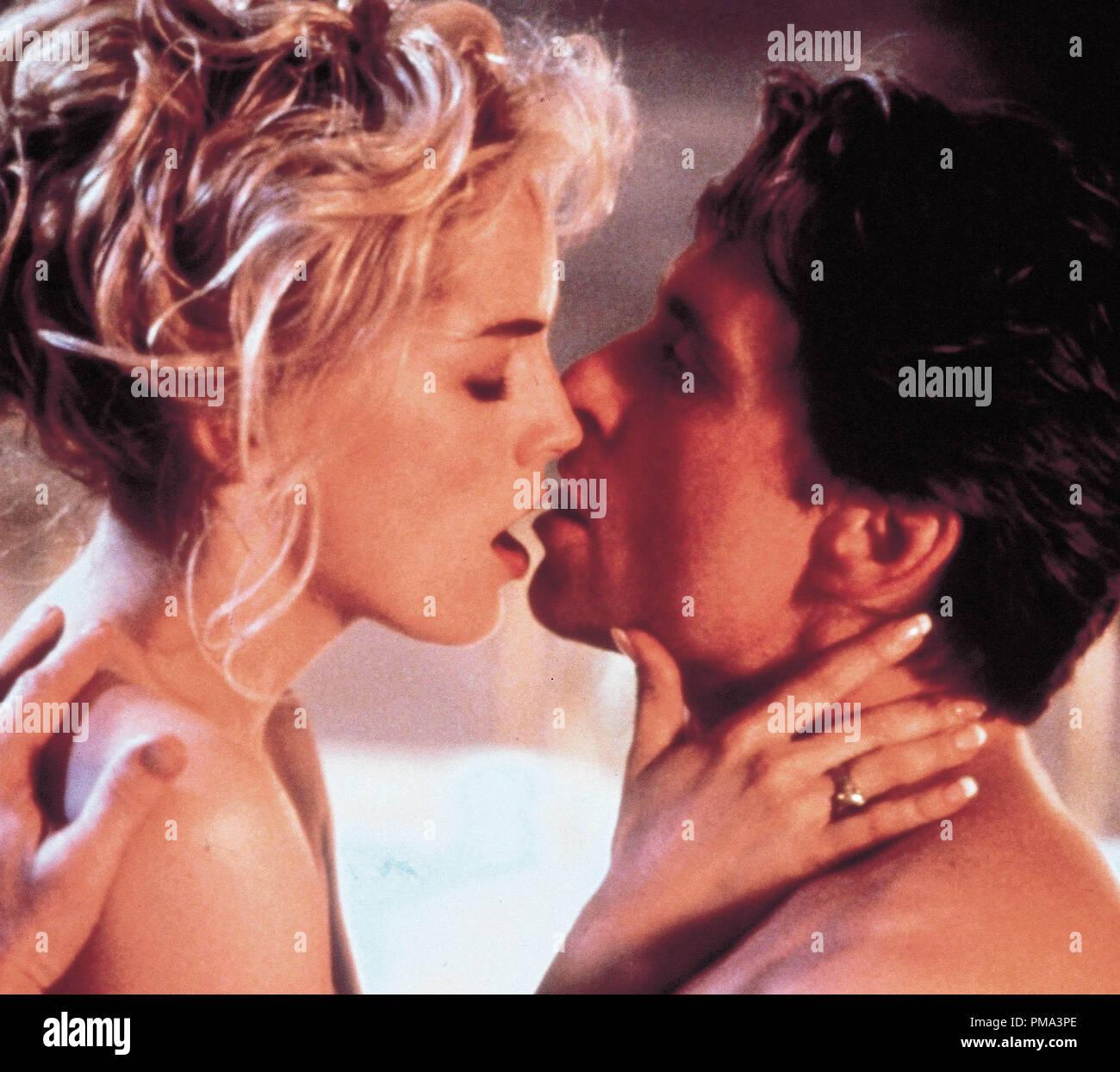 "Animal Instincts 1992 Movie basic instinct"" 1992 tristar sharon stone and michael"