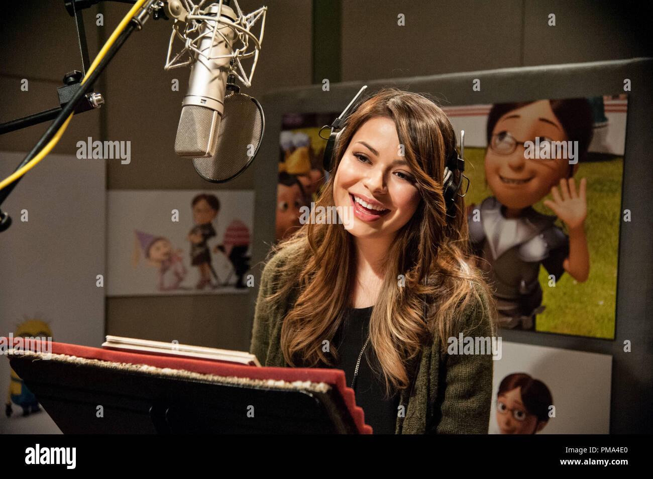 MIRANDA COSGROVE returns to voice eldest child Margo in 'Despicable Me 2', summer 2013's much-anticipated follow-up to Universal Pictures and Illumination Entertainment's blockbuster comedy adventure 'Despicable Me'. - Stock Image