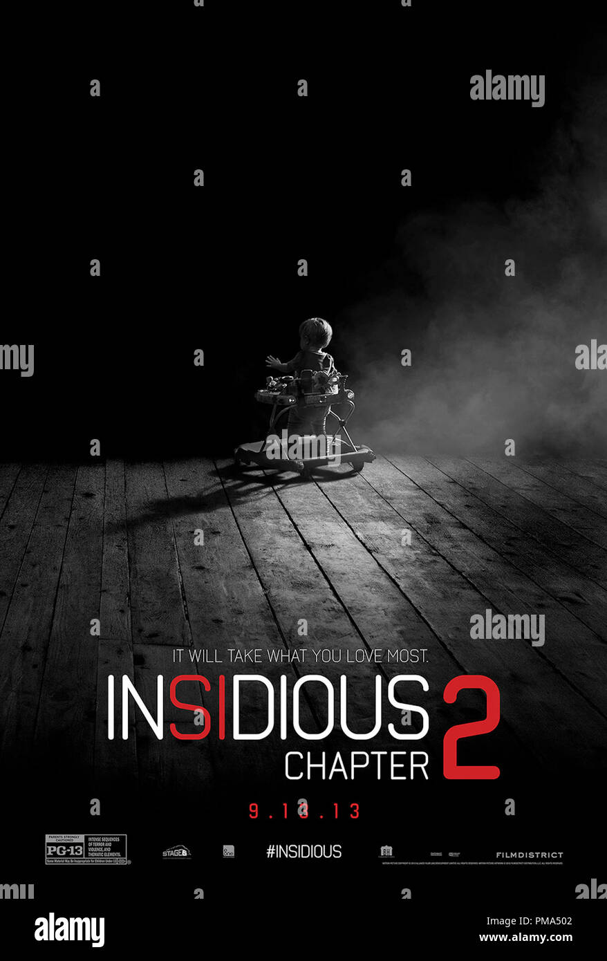 Filmdistrict S Insidious Chapter 2 Poster Stock Photo Alamy
