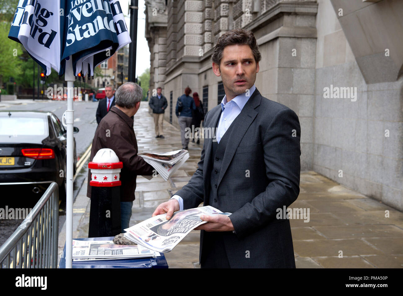 Eric Bana stars as Martin Rose in John Crowley's CLOSED CIRCUIT, a Focus Features release. - Stock Image