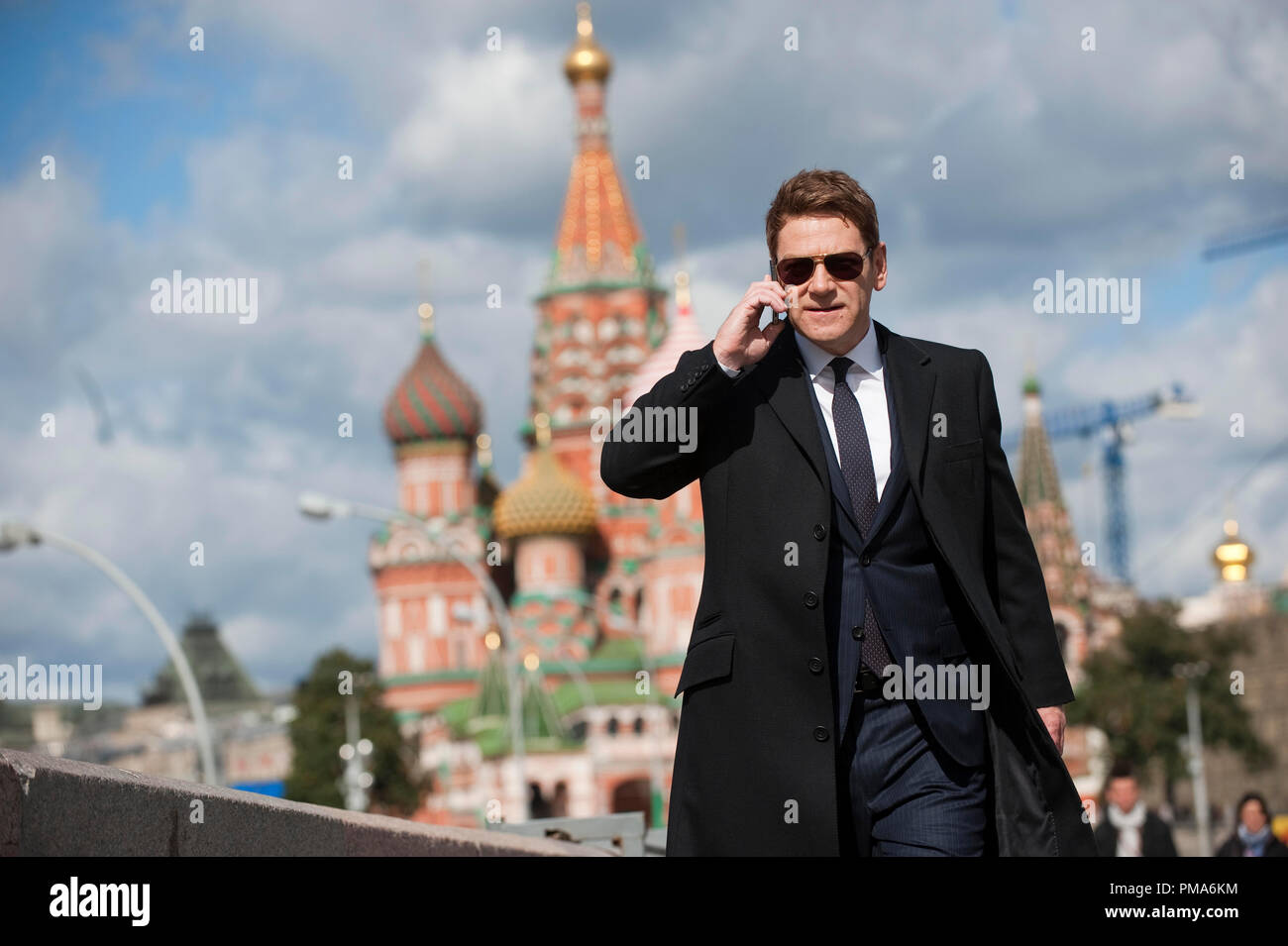 Still of Kenneth Branagh in Jack Ryan: Shadow Recruit (2014) - Stock Image