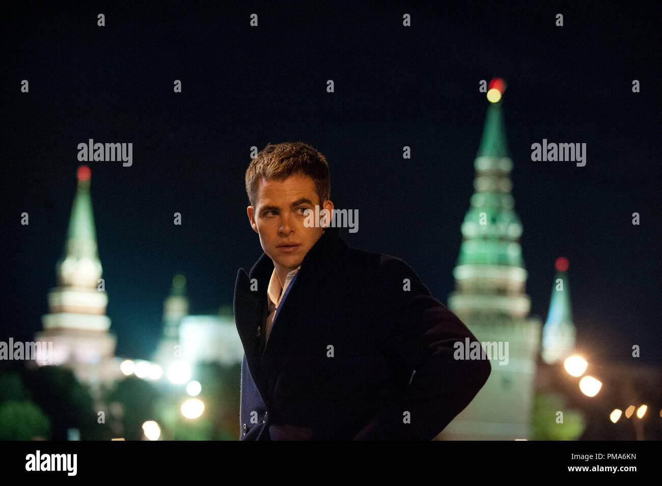 Still of Chris Pine in Jack Ryan: Shadow Recruit (2014) - Stock Image